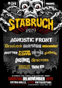 Stäbruch Festival 2019 - Line-Up