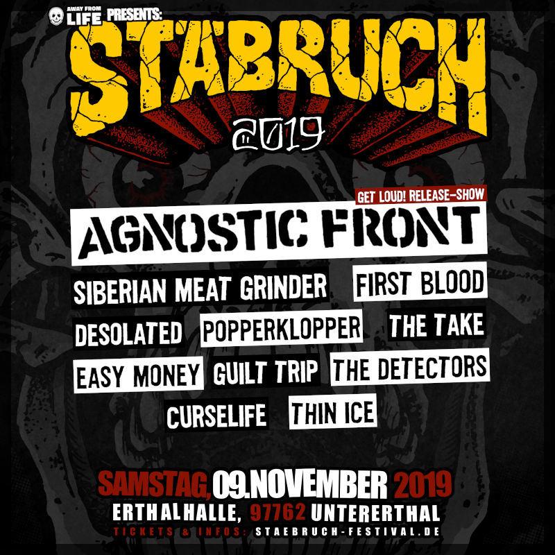 Stäbruch Festival Flyer 2019